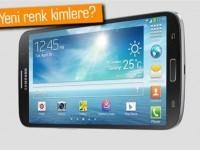 Galaxy Mega 6.3 koyu lacivert renk seçeneği ile gelebilir