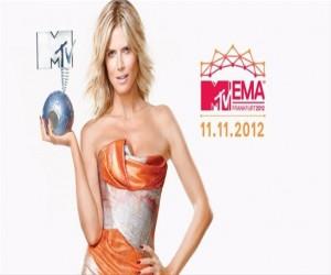 MTV Avrupa Müzik Ödülleri Töreni 2012
