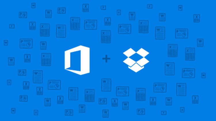 Microsoft, Office ve Dropbox İşbirliği Yapıyor