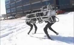 Dünyanın en güçlü 4 ayaklı robotu